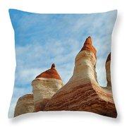 Blue Canyon 52 Throw Pillow