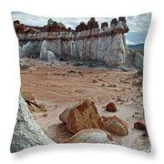 Blue Canyon 63 Throw Pillow
