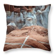 Blue Canyon 71 Throw Pillow