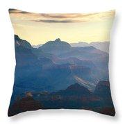 Blue Canyon Throw Pillow