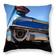 Blue Car Bumper Havana Throw Pillow