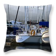 Blue Chip Throw Pillow