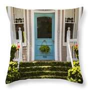 Blue Door  Ivy Stairs Throw Pillow