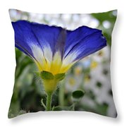 Blue Enchantment Side Throw Pillow