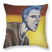 Blue - External Throw Pillow