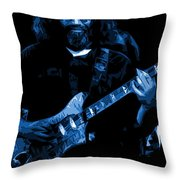 Blue Eyes Of The World Throw Pillow