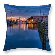Blue Hour Beauty Throw Pillow