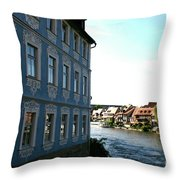 Blue House - Bamberg Throw Pillow