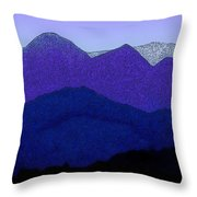 Blue Hue Of The Pyrenees Throw Pillow