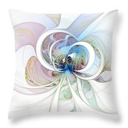 Blue Is The Colour Of My Love Throw Pillow