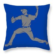 Blue Jays Shadow Player1 Throw Pillow