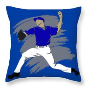 Blue Jays Shadow Player3 Throw Pillow