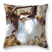 Blue Jeans And Tees Throw Pillow