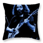 Blue J G In Cheney 10-27-78 Throw Pillow