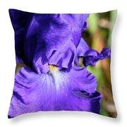 Blue June Throw Pillow