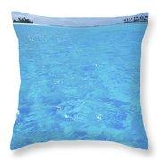 Blue Lagoon. Throw Pillow