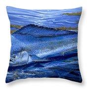 Blue Mahi Off0071 Throw Pillow