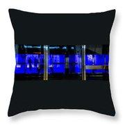 Blue Man Group Throw Pillow