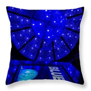 Blue Man Group Chandelier Throw Pillow