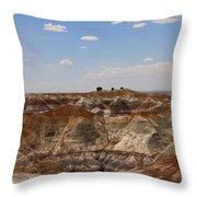 Blue Mesa - Painted Desert Throw Pillow