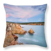 Blue Paradise Throw Pillow by Photography  By Sai