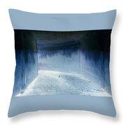 Blue Passage Throw Pillow