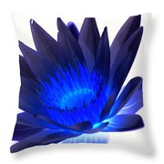 Blue Passion Throw Pillow