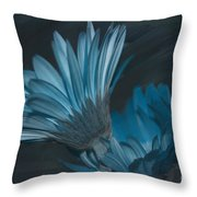 Blue Radiance Throw Pillow