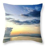 Blue Relax Throw Pillow