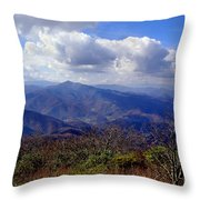 Blue Ridge Parkway I Throw Pillow