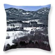 Blue Ridge Vista Throw Pillow