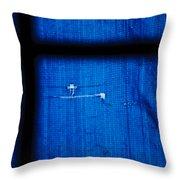Blue Shade Throw Pillow