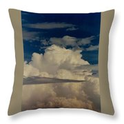 Blue Skies Of Heaven Throw Pillow