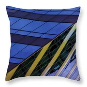 Blue Sky Horizontal  Throw Pillow