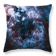 Blue Storm  Throw Pillow
