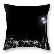 Blue Top Opening Night Throw Pillow