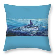 Blue Tranquility Off0051 Throw Pillow