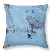 Blue Wall Textures 85 Throw Pillow