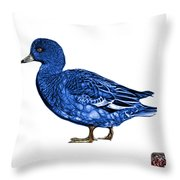 Blue Wigeon Art - 7415 - Wb Throw Pillow