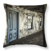 Blue Wing Inn Throw Pillow