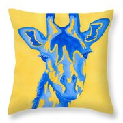 Bluebelle Throw Pillow