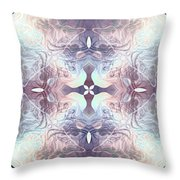 Bluelight Cross Throw Pillow