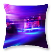 Blues Before Sunrise Throw Pillow