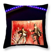 Blues Brothers Tribute Throw Pillow