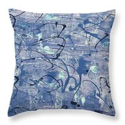 Blues Throw Pillow