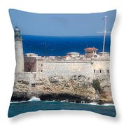 Blues Of Cuba Throw Pillow