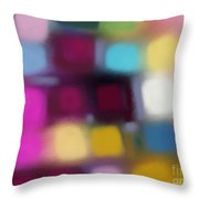 Blur II Throw Pillow