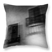 Blurry Shutters Throw Pillow