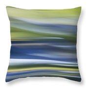 Blurscape Throw Pillow