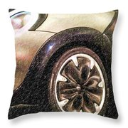 Bmw 25 Throw Pillow